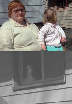 Real Ghost Photos, Scary Ghost Pictures, Creepy Ghost, Creepy Facts, Weird Pictures, Ghost Pics, Ghost Images, Scary Stories, Horror Stories