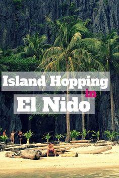Island Hopping in El Nido, Philippines - #travel #southeastasia #philippines #elnido