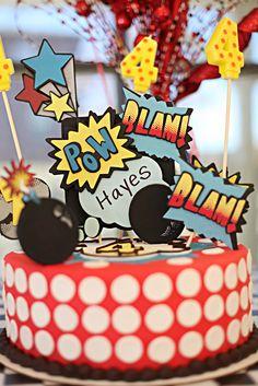 Cake idea an toppers made by@Southernbellescharm.com