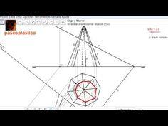 Sección de una pirámide por plano en diédrico - YouTube