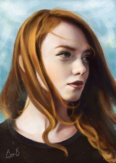 Julie Kennedy by AnnaFromTheTrain
