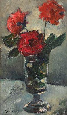 Venice Biennale, Famous Art, Renoir, Still Life, Red Roses, Painters, 1 Mai, Master Art, Van
