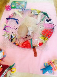 Sensory toys hoop baby