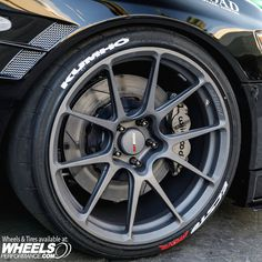 Mitsubishi EVO on Forgeline One Piece Forged Monoblock GS1R Wheels sized 19x10.5  finished in Titanium. Get a quote on these by calling 1.888.239.4335 or @WheelsPerformance