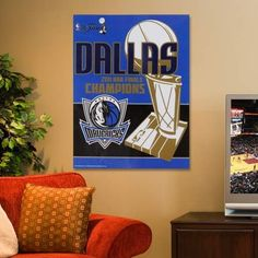 """NBA Dallas Mavericks 2011 NBA Champions 27"""" x 37"""" Vertical Banner () by WinCraft. $23.95. Ready to hang. High-quality team graphics. Officially licensed NBA product. Dallas Mavericks 2011 NBA Champions 27"""" x 37"""" Vertical BannerReady to hangHigh-quality team graphicsOfficially licensed NBA productReady to hangHigh-quality team graphicsOfficially licensed NBA product"""