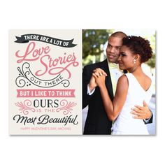 Retell your #love story this #Valentine's Day! #InkCards
