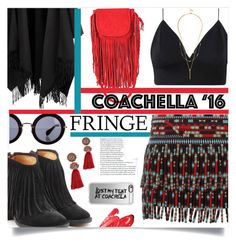"""""""Waka"""" by sonny-m ❤ liked on Polyvore featuring Valentino, Acne Studios, Fiorentini + Baker, Lanvin, Casetify, Jennifer Haley, Miu Miu and fringe"""