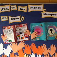 """Diario mural liceo Amanda Labarca """"Biblioteca"""""""