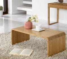 Bamboo Floor Table Wooden Japanese Style Low Tatami Laptop Coffee/Tea