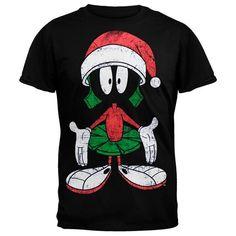 Looney Tunes - Marvin X-mas T-Shirt - M