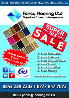 Fancy Flooring's Super 6 Sale - Day 3 - Clyde