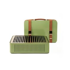 My design inspiration: MON ONCLE Portable BBQ Green on Fab.
