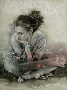 Kai Fine Art is an art website, shows painting and illustration works all over the world. Figure Painting, Painting & Drawing, Woman Painting, L'art Du Portrait, Kunst Online, Fine Art, Belle Photo, Artist At Work, Art World