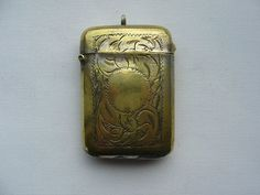 Antique or Vintage Vesta Case Match Safe