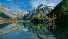 Derborence - Mountain Lake formed by Landslides Valais Switzerland Places To Visit, Switzerland Tourism, Grand Tour, Wallis, Seen, Natural Wonders, Oh The Places You'll Go, Landscape Photos, Dream Vacations