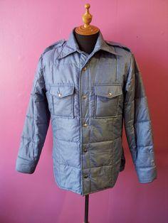 1d7e479c81 Equinox Blue Jacket 70 s Men s Chest 42   by CestLaVieBoutique6