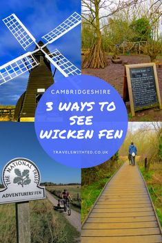 Wicken Fen Walks - Visiting with Kids. Wicken Fen Walks with Kids. 3 ways to see Wicken Fen in Cambridgeshire. Family Days Out Uk, Days Out With Kids, Holidays With Kids, Uk Holidays, Travel With Kids, Family Travel, Visit Cambridge, Kids Attractions, Holiday Resort