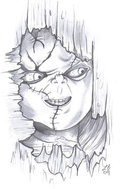 chucky drawings in pencil - Google Search