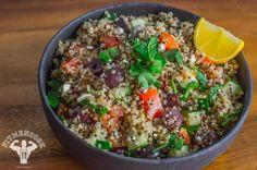 Mediterranean-Inspired Quinoa Bowl   Fit Men Cook (***add feta, grilled chicken)