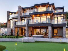 67 Ideas house design exterior dream homes interiors for 2019 Design Exterior, Modern Exterior, Dream Home Design, Modern House Design, Real Estate Quotes, Dream Mansion, House Of Beauty, Luxury Homes Dream Houses, Dream Homes
