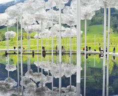 When Swarovski turned 100, back in 1995, it gave its hometown in the Tyrol a centennial present in the form of a park called Swarovski Kristallwelten. For the 120th anniver...
