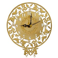 rocket ship wall clock laser cut - Google Search