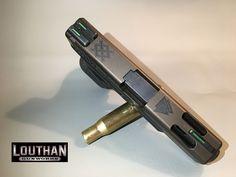 Glock 23C Cerakoted Slide Burnt Bronze and Frame Graphite Black