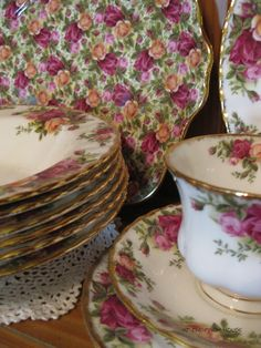 Old Country Roses~ A Favorite southern china pattern