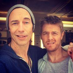 Tom Cavanagh x Rick Cosnett - The Flash