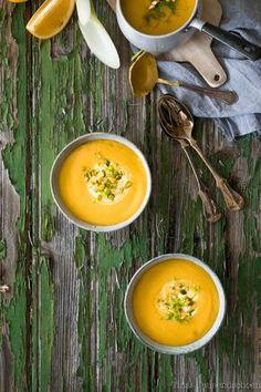 Fenchel Orangen Suppe