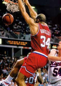 Charles Barkley - one of my all time favorites
