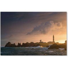 Trademark Fine Art The Magic Island of Ushant Canvas Art by Mathieu Rivrin, Size: 22 x 32, Multicolor