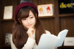Cute Girls, Books To Read, Yahoo, Study, Cosplay, Reading, Anime, Photos, Shojo Manga