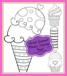 Sweet Summer Treats Free Printable Coloring Book - Farmer's Wife Rambles