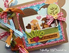Papered Cottage by Shellye McDaniel: Mini Albums