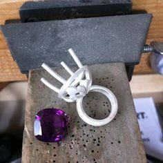 Making a Cocktail Ring by Lucy Ryalls