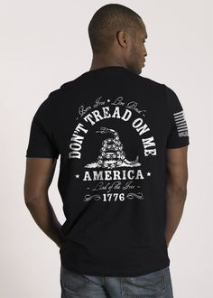 Men's T-Shirt - Don't Tread On Me