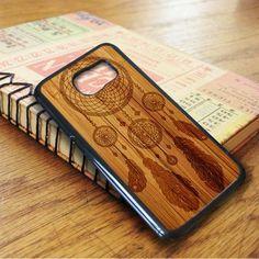 Dream Catcher Wood Design Samsung Galaxy S6 Case