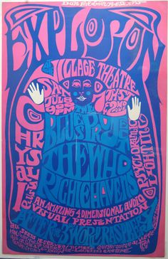 Explosion:  Blues Project . The Who . Richie Havens