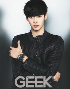 Lee Jong Suk goes shirtless and shows his charisma for 'Geek' and 'W Korea' | allkpop.com