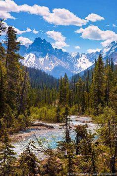 Rocky Mountains (Yoho, BC) by Eric Girouard