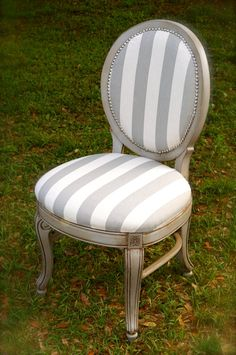 French provincial chair by LMODesignGroup on Etsy, $150.00