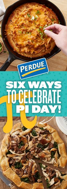 Celebrate Pi Day with pie…chicken pie, of course! Check out Perdue.com for yummy Pi Day recipes and family activities.