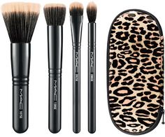 MAC Holiday Collection brush set- just couldn't resist.