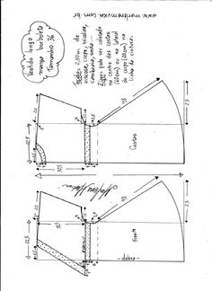 Ideas for sewing clothes women refashioning simple Skirt Patterns Sewing, Sewing Patterns Free, Sewing Tutorials, Clothing Patterns, Sewing Projects, Sewing Clothes Women, Diy Clothes, Clothes For Women, Techniques Couture