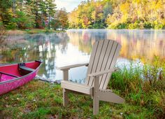 KEY FEATURES Ships within 1- 3 Business Days At the cabin or on your deck, the Lakeside Adirondack Chair is built for relaxation and making memories with your family. Built for quality and comfort, it