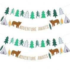 Lets Explore Party Garland - New In - Party Supplies