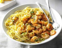 Whipping up a delicious seafood dish doesn't have to be a challenge. Try these easy shrimp recipes tonight! The post 40 Easy Shrimp Recipes Anyone Can Make appeared first on Taste of Home. How To Cook Fish, How To Cook Shrimp, How To Cook Pasta, Cooking Raw Shrimp, Spicy Shrimp Pasta, Shrimp Recipes Easy, Salmon Recipes, Healthy Weeknight Dinners, Seafood Dishes