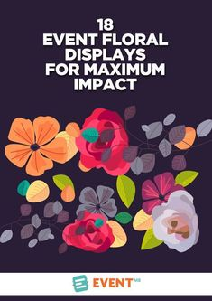 It& time to really appreciate the power of flowers in your events! Get the most from your florals by turning displays into multipurpose event elements.