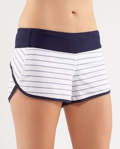Hands down the most comfortable and most flattering running shorts I've ever put on. I immediately bought 4 pairs and won't run/work out in anything else!! (great little useful pockets too!!)